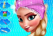 game Frozen Elsa Royal Makeover