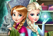 game Frozen Fashion Rivals