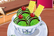 game Green Tea Ice Cream: Sara's Cooking Class