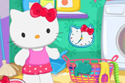 game Hello Kitty Laundry Day