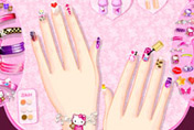 game Hello Kitty Nail Designs