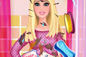 game Messy Pregnant Barbie