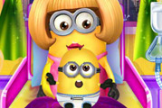 game Minion Girl and the New Born Baby