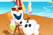 game Olaf Summer Vacation