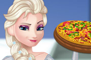 game Pregnant Elsa Cooking Pizza