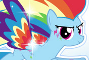 game Rainbow Dash Rainbow Power Style
