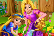 game Rapunzel Mommy Gardening