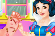 game Snow White Doctor Rapunzel Foot
