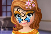 game Sofia The First Face Tattoo