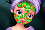 game Sofia The First Halloween Makeover