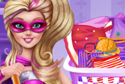 game Super Barbie Housekeeping Day