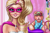 game Super Barbie Makeup Room