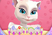 game Talking Angela Great Manicure