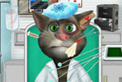 game Talking Tom Ambulance
