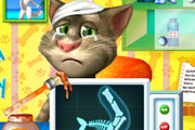 game Talking Tom Arm Surgery